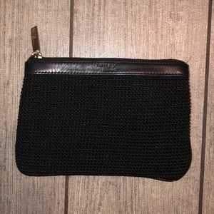 The sale woven zip pouch